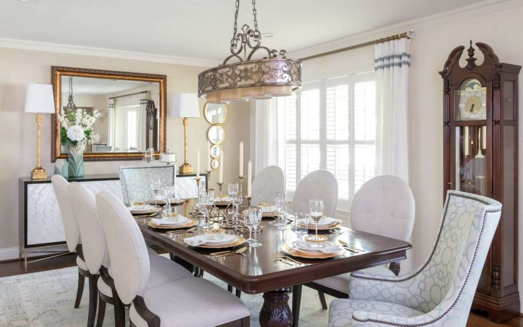 How to Modernize a Dark Drab Dining Room | Top Art Deco Design Dining Ideas 2020