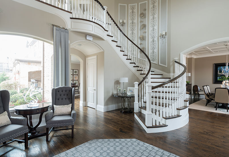 1 Two Story Foyer Decor Luxury, What Furniture Goes In A Foyer