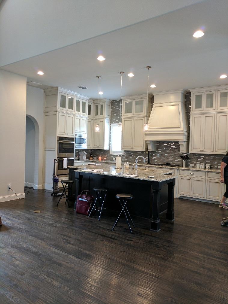 luxury interior designer dallas tx completes modern kitchen design