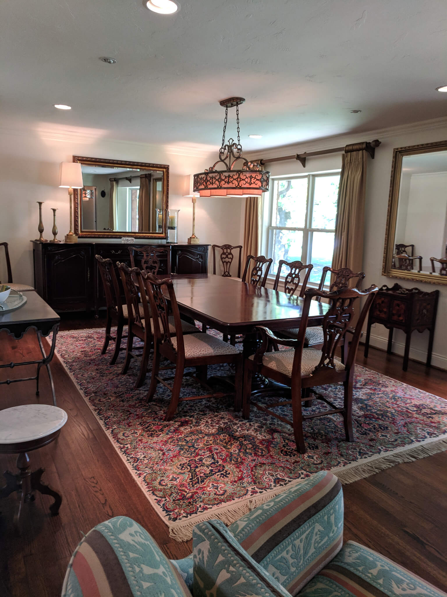 traditional carved chippendale dining room set, dinning room design ideas, dining room ideas
