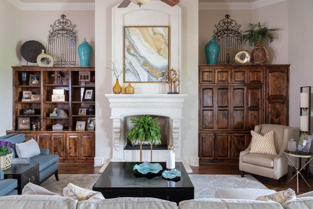 1 Dallas Interior Designers Modern Living Room Design Ideas