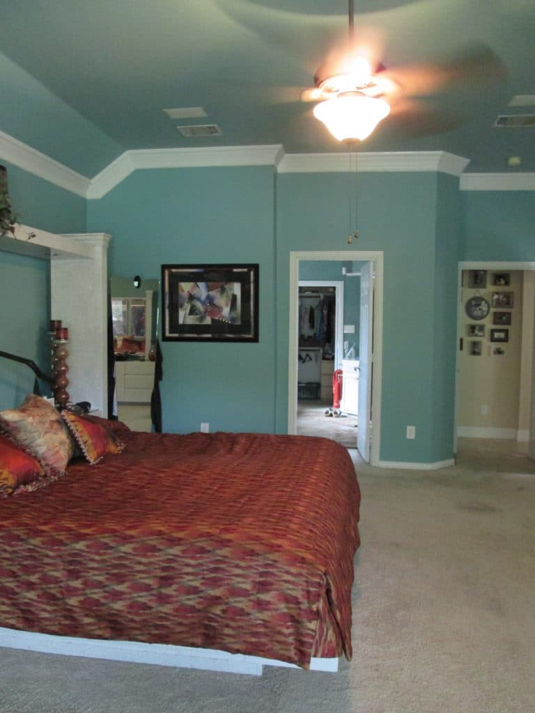 large master bedroom ideas - before photos