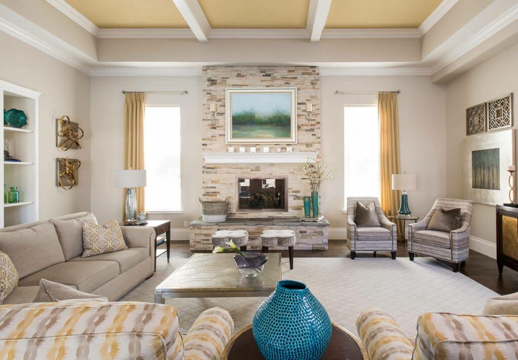beautiful living room ideas with luxury home interior design by best interior designers dallas TX Dee Frazier Interiors Decorating Den Interiors the best Frisco Interior Designer