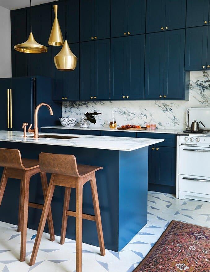 Blue Navy Kitchen Cabinets   Kitchen Design Ideas 2020, best kitchen design ideas 2020, navy blue kitchen cabinets, navy blue cabinets, home, interior, design, dallas, designers, home, interior, design, dallas, designers, view