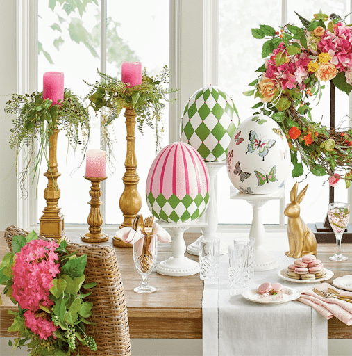 Impress Your Guest! 53 Super Easter Home Decor & Easter Brunch Ideas 35 | Award-Winning Interior Designers, Interior Decorators, Kitchen Designers, Bath Designers, Home Renovations, Window Treatments, & Custom Furniture D'KOR HOME by Dee Frazier Interiors | Interior Designer Dallas TX
