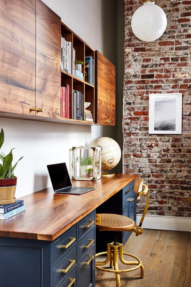 wood counter tops, navy blue cabinet ideas, office interior design ideas 2020, dallas interior designers, dallas interior decorators, home, interior, design, dallas, designers, home, interior, design, dallas, designers, view