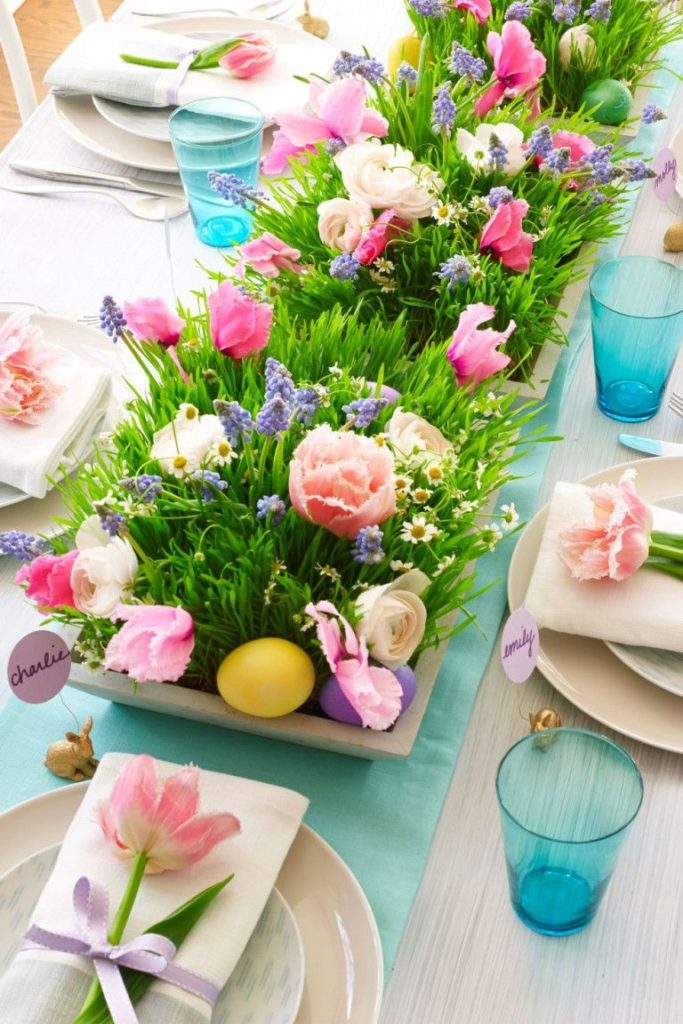 Impress Your Guest! 53 Super Easter Home Decor & Easter Brunch Ideas 36 | Award-Winning Interior Designers, Interior Decorators, Kitchen Designers, Bath Designers, Home Renovations, Window Treatments, & Custom Furniture D'KOR HOME by Dee Frazier Interiors | Interior Designer Dallas TX