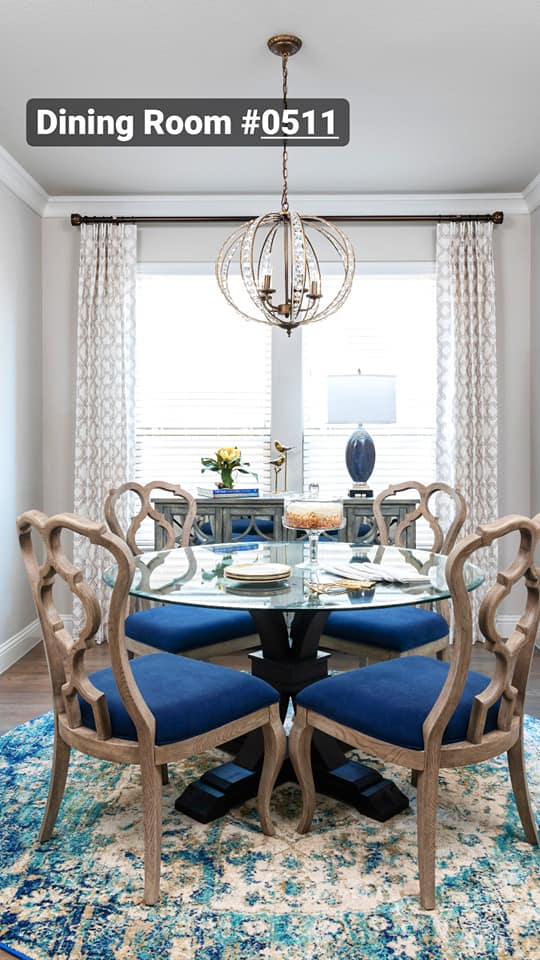 dining room interior design projects from Dallas, TX interior designer Dee Frazier