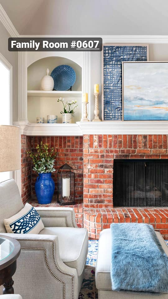 family room interior design projects from Dallas, TX interior designer Dee Frazier