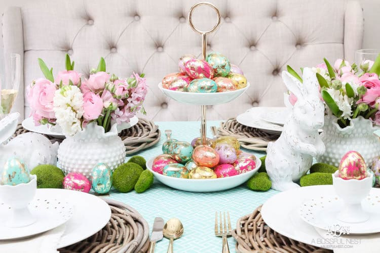 Impress Your Guest! 53 Super Easter Home Decor & Easter Brunch Ideas 28 | Award-Winning Interior Designers, Interior Decorators, Kitchen Designers, Bath Designers, Home Renovations, Window Treatments, & Custom Furniture D'KOR HOME by Dee Frazier Interiors | Interior Designer Dallas TX