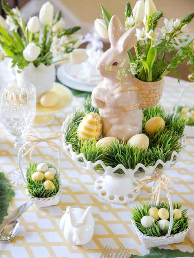 Impress Your Guest! 53 Super Easter Home Decor & Easter Brunch Ideas 43 | Award-Winning Interior Designers, Interior Decorators, Kitchen Designers, Bath Designers, Home Renovations, Window Treatments, & Custom Furniture D'KOR HOME by Dee Frazier Interiors | Interior Designer Dallas TX