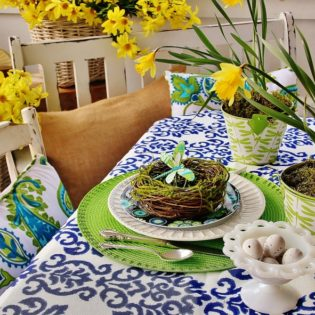 Impress Your Guest! 53 Super Easter Home Decor & Easter Brunch Ideas 3 - Dallas Interior Designer serving Plano, Frisco, Dallas, Allen for Decorating Den Interiors D'KOR HOME by Dee Frazier Interiors