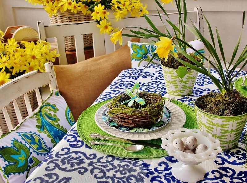 Impress Your Guest! 53 Super Easter Home Decor & Easter Brunch Ideas 27 | Award-Winning Interior Designers, Interior Decorators, Kitchen Designers, Bath Designers, Home Renovations, Window Treatments, & Custom Furniture D'KOR HOME by Dee Frazier Interiors | Interior Designer Dallas TX