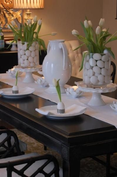 Impress Your Guest! 53 Super Easter Home Decor & Easter Brunch Ideas 9 | Award-Winning Interior Designers, Interior Decorators, Kitchen Designers, Bath Designers, Home Renovations, Window Treatments, & Custom Furniture D'KOR HOME by Dee Frazier Interiors | Interior Designer Dallas TX