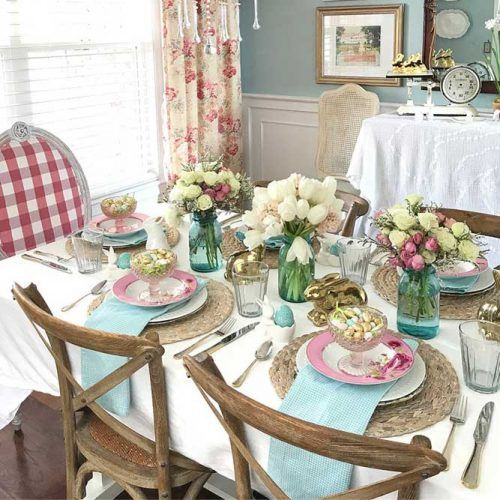 Impress Your Guest! 53 Super Easter Home Decor & Easter Brunch Ideas 45 | Award-Winning Interior Designers, Interior Decorators, Kitchen Designers, Bath Designers, Home Renovations, Window Treatments, & Custom Furniture D'KOR HOME by Dee Frazier Interiors | Interior Designer Dallas TX