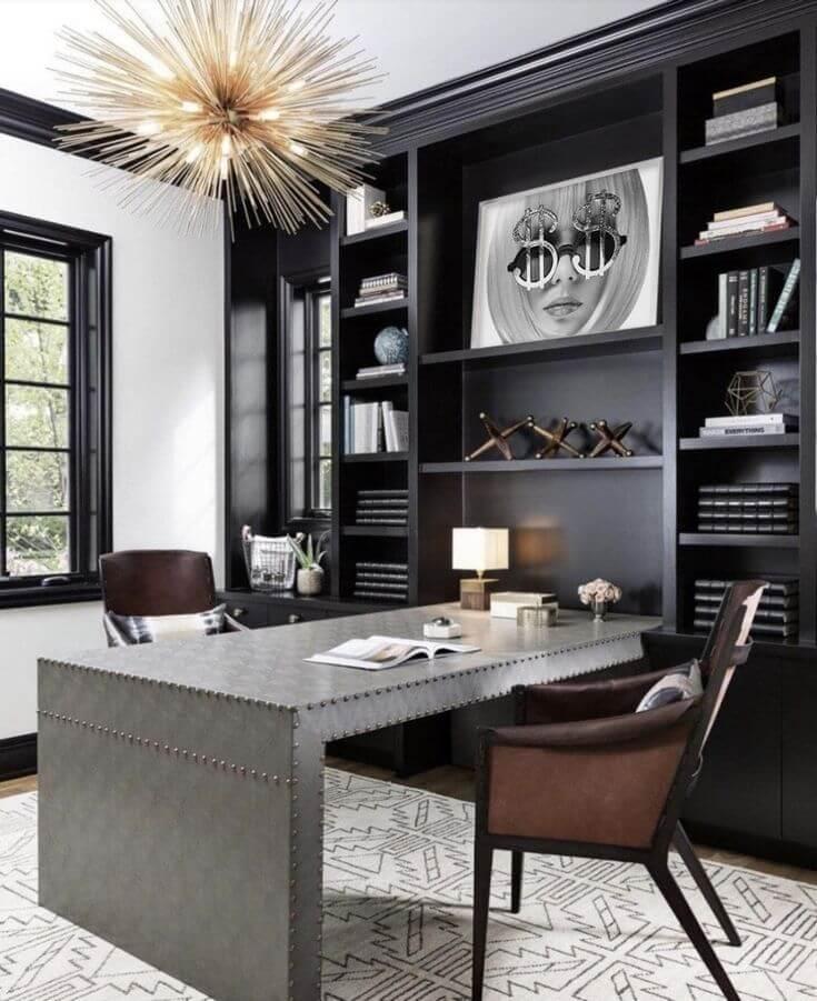 Modern Home Office Decor Ideas from dkorhome.com