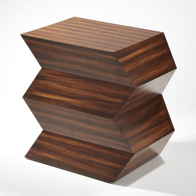 different types of zig zags patterns zig zag nightstand or end table
