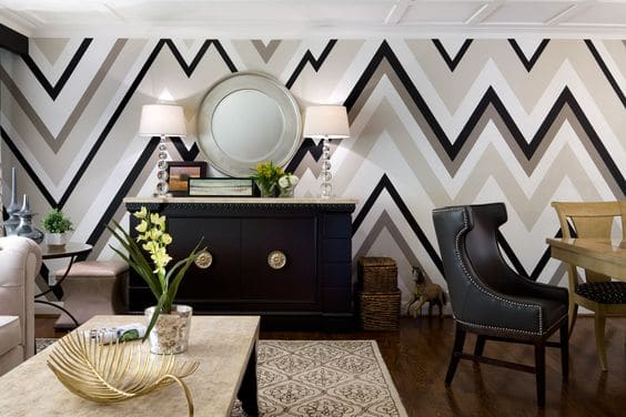 different types of zig zags patterns zig zag wallpaper wallcovering