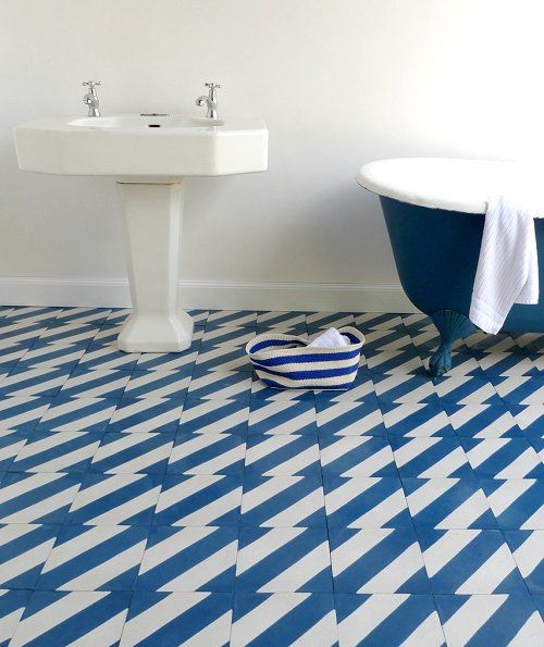 different types of zig zags patterns zig zag blue and white tile in bathroom remodel with clawfoot tub