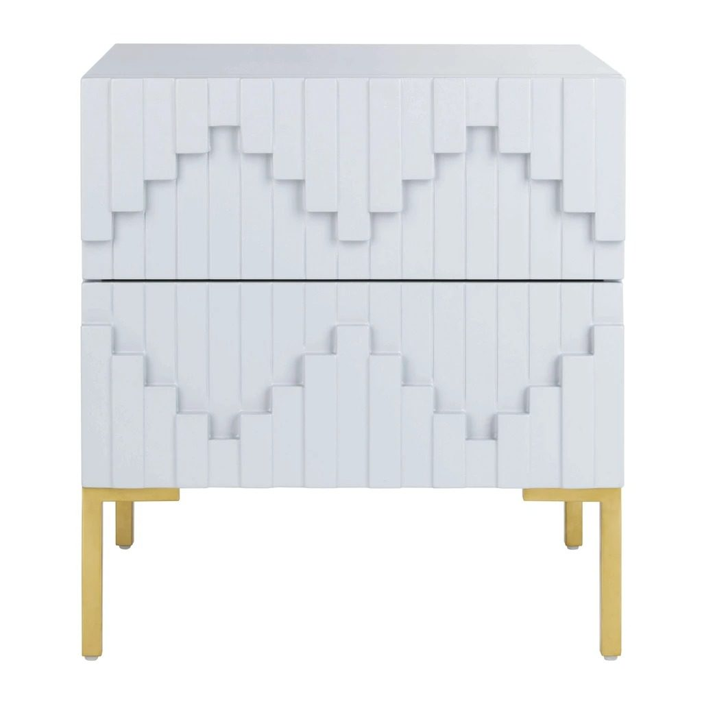 different types of zig zags patterns zig zag bedside chest or nightstand