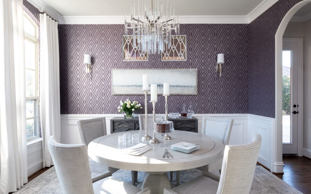 2020 Mid Century Modern Interior Decorating Ideas + Modern Chic Dining Room Ideas