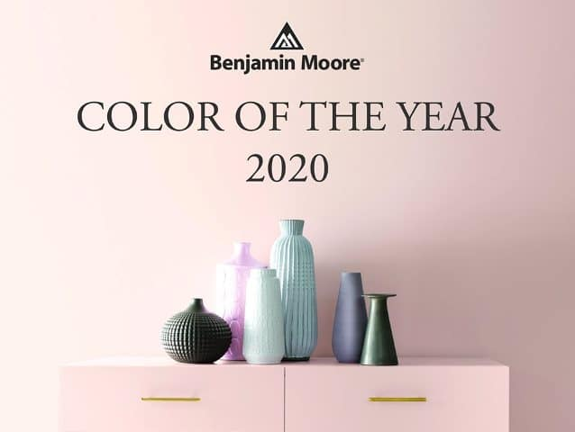 benjamin moore color of the year 2020