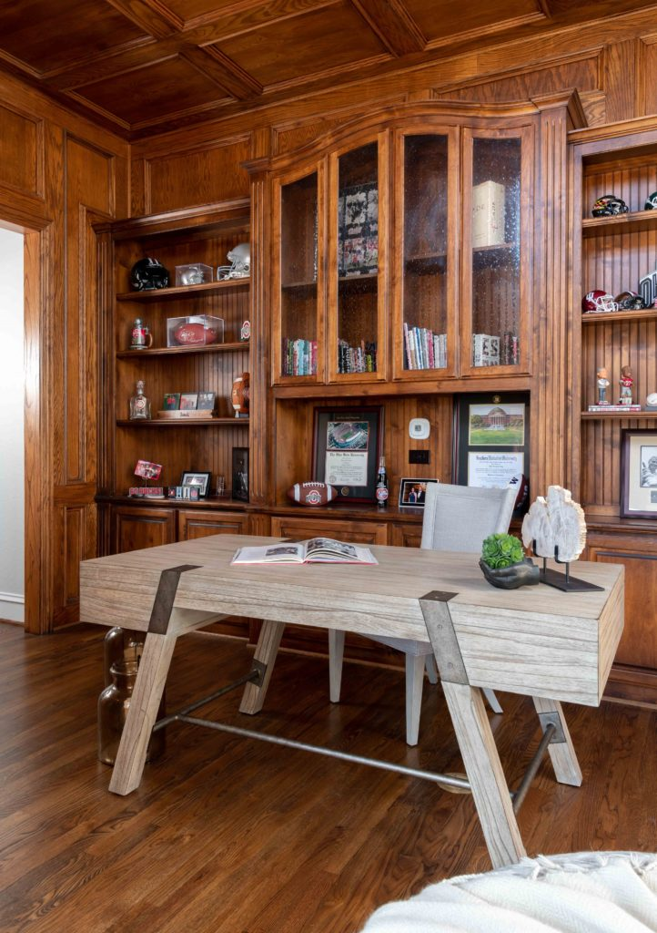 a frame industrial metal desk for home office, his home office ideas, home offices for guys, industrial home office, luxury interior designers, dallas luxury designers, Home Office Decor Ideas 2020, How To Calculate Home Office Deduction