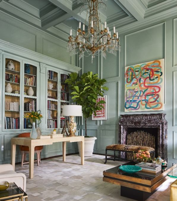 Grace Kelly Inspired Lady's Study Ideas by Jan Showers In Kips Bay Decorator Showhouse