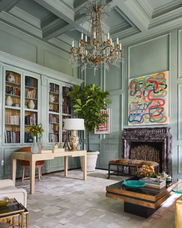 Grace Kelly Inspired Lady's Study Ideas by Jan Showers In Kips Bay Decorator Showhouse 3   Award-Winning Interior Designers, Interior Decorators, Kitchen Designers, Bath Designers, Home Renovations, Window Treatments, & Custom Furniture D'KOR HOME by Dee Frazier Interiors   Interior Designer Dallas TX