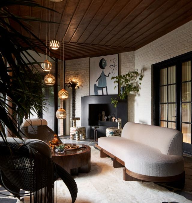 Most Luxurious Art Deco Style Screen Porch Ideas from Kips Bay Designer Showhouse