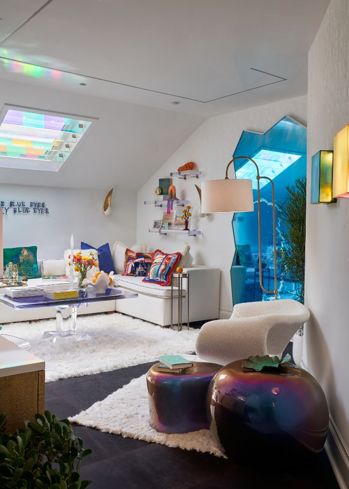 The Colorful Utopia Loft by Sherry Hayslip Features Amazing Teen Room Ideas In the 2020 Kips Bay Designer Showhouse Dallas TX, dallas designers, dallas interior designers, interior designers in dallas tx, dallas tx decorators, interior decorators dallas tx, d'kor home, dkor home, dee frazier