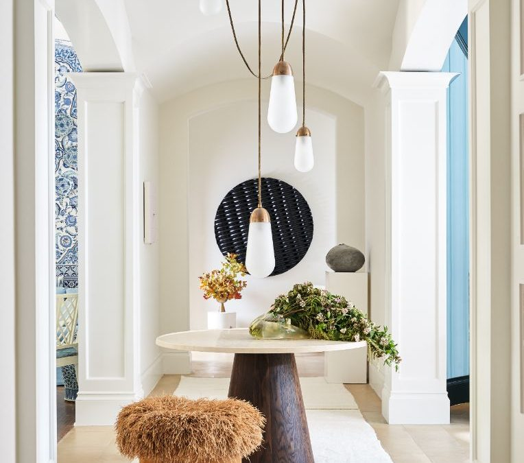 The Beautiful MNaeve Art Gallery Powder Room Renovation in Kips Bay Dallas Designer Showhouse