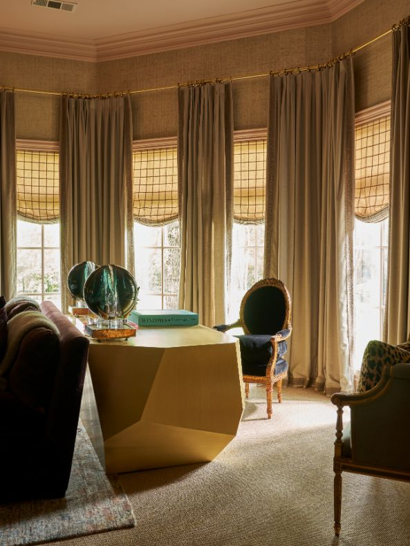 Transitional Master Suite Ideas From Kips Bay Dallas Showhouse Featuring Interior Designs by Kirsten Kelli 10   Award-Winning Interior Designers, Interior Decorators, Kitchen Designers, Bath Designers, Home Renovations, Window Treatments, & Custom Furniture D'KOR HOME by Dee Frazier Interiors   Interior Designer Dallas TX