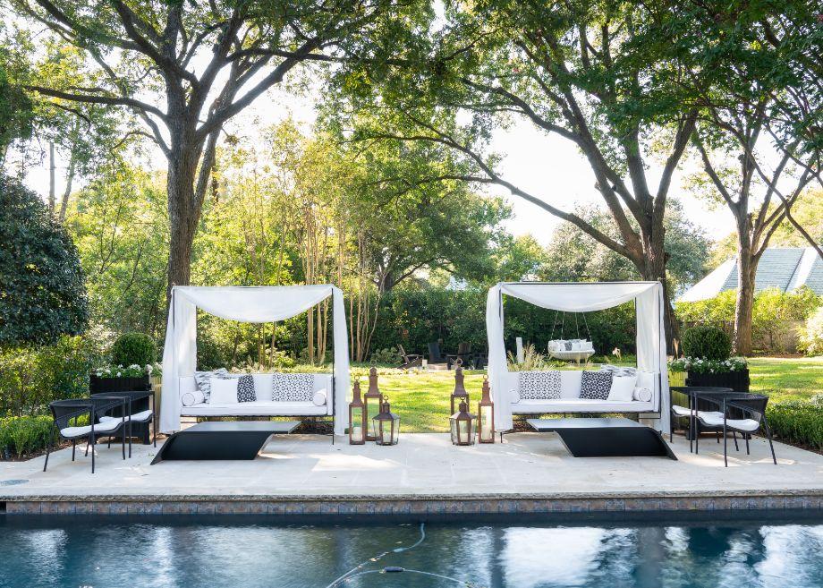 Luxury Pool & Backyard Ideas from Kips Bay Showhouse Dallas by Melissa Gerstle 3 | Award-Winning Interior Designers, Interior Decorators, Kitchen Designers, Bath Designers, Home Renovations, Window Treatments, & Custom Furniture D'KOR HOME by Dee Frazier Interiors | Interior Designer Dallas TX