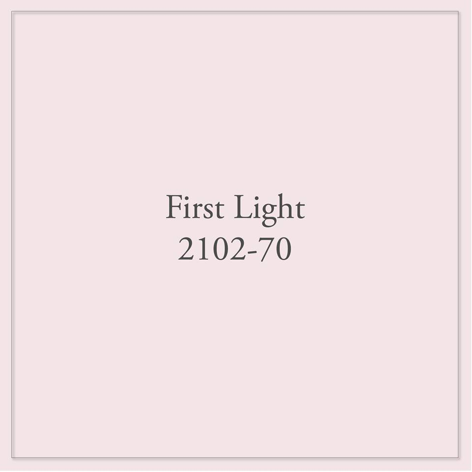 what is benjamin moore color of the year 2020 first light 2102-70