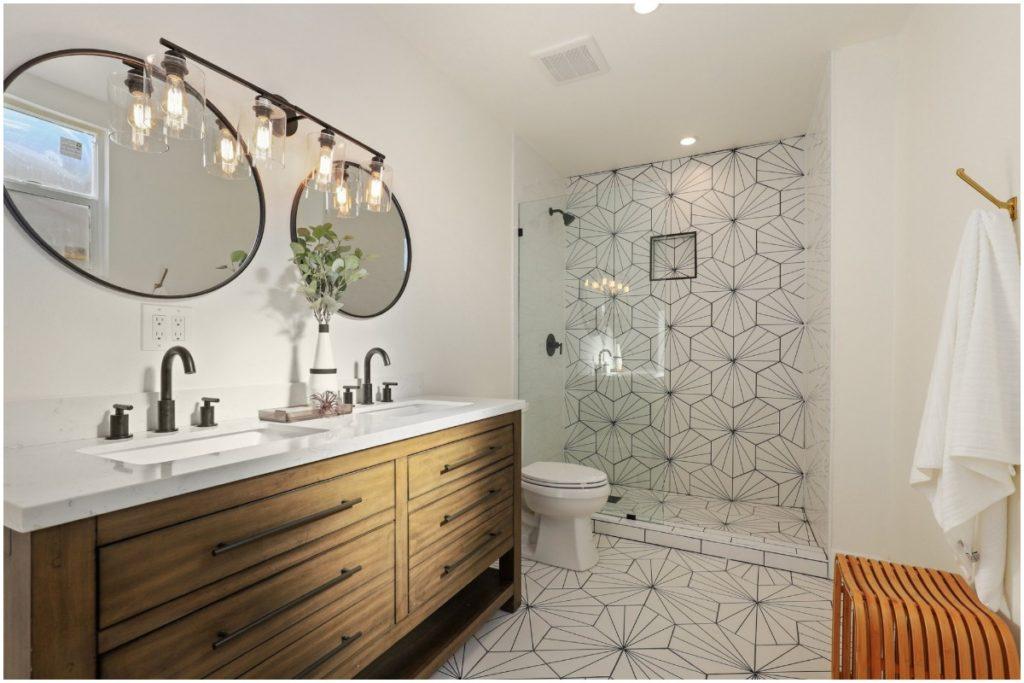 bathroom tile patterns, top interior designers, redfin, top interior designers home design trends 2020