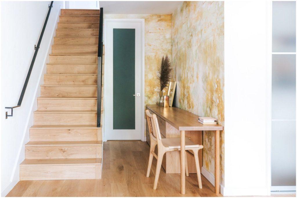top interior designers, redfin, top interior designers home design trends 2020, how to incorporate desk in hallway