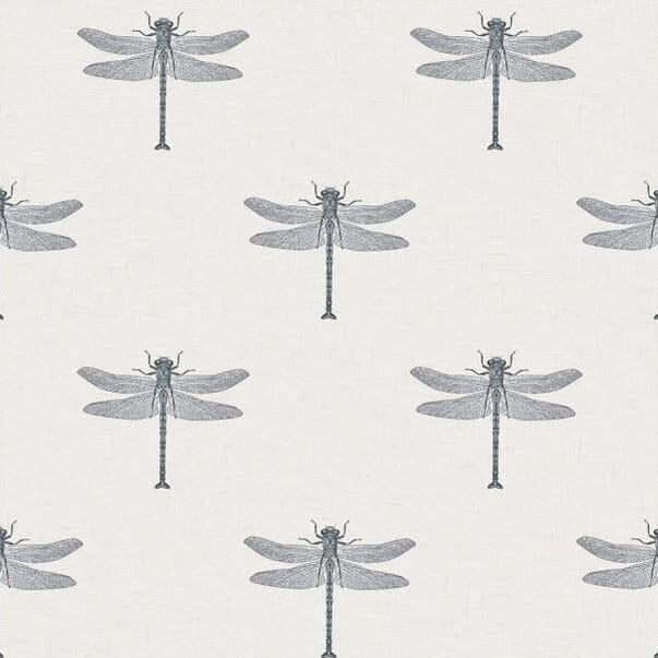 dragonfly wallpaper, blue powder room vanity ideas, blue cabinet ideas, blue walls, dragonfly wallpaper,